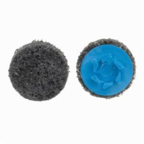 Norton® Vortex® Rapid Prep™ 66623325008 Non-Woven Abrasive Quick-Change Disc, 2 in Dia, 36 Grit, Extra Coarse Grade, Aluminum Oxide Abrasive, Type TP (Type I) Attachment