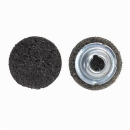 Norton® Vortex® Rapid Prep™ 66623325010 Non-Woven Abrasive Quick-Change Disc, 3 in Dia, 40 Grit, Extra Coarse Grade, Aluminum Oxide Abrasive, Type TS (Type II) Attachment