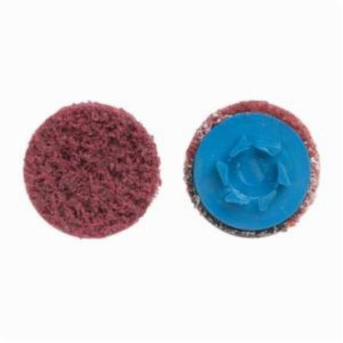 Norton® Vortex® Rapid Prep™ 66623325022 Non-Woven Abrasive Quick-Change Disc, 1-1/2 in Dia, 150 Grit, Medium Grade, Aluminum Oxide Abrasive, Type TP (Type I) Attachment