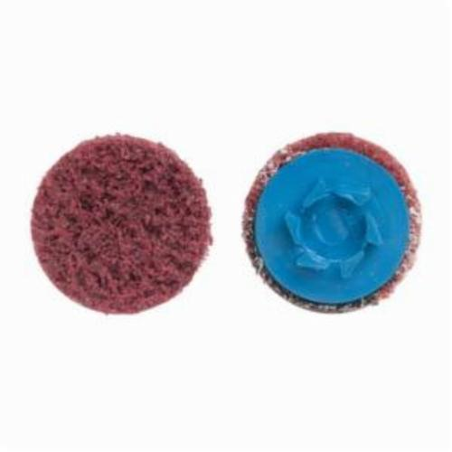 Norton® Vortex® Rapid Prep™ 66623325023 Non-Woven Abrasive Quick-Change Disc, 4 in Dia, 150 Grit, Medium Grade, Aluminum Oxide Abrasive, Type TP (Type I) Attachment