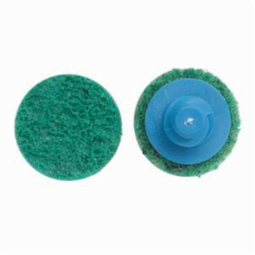 Norton® Vortex® Rapid Prep™ 66623325041 Non-Woven Abrasive Quick-Change Disc, 4 in Dia, 120 Grit, Fine Grade, Aluminum Oxide Abrasive, Type TR (Type III) Attachment