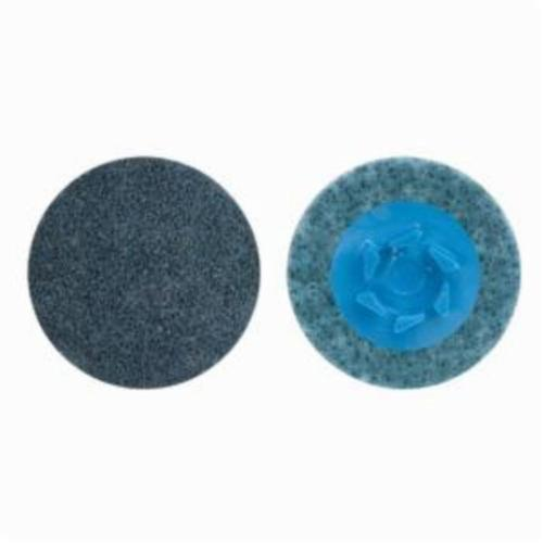 Norton® Vortex® Rapid Prep™ 66623325054 Non-Woven Abrasive Quick-Change Disc, 4 in Dia, 360 Grit, Very Fine Grade, Aluminum Oxide Abrasive, Type TP (Type I) Attachment