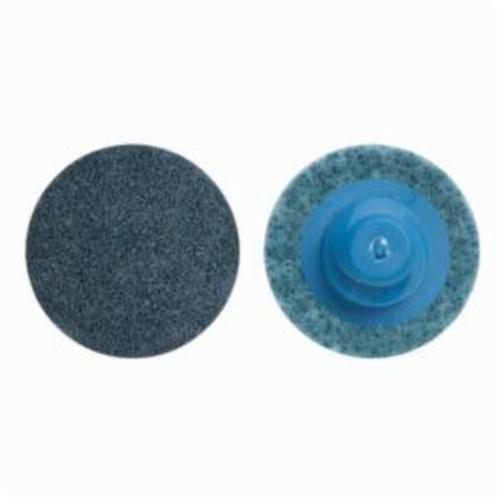 Norton® Vortex® Rapid Prep™ 66623325056 Non-Woven Abrasive Quick-Change Disc, 4 in Dia, 150 Grit, Very Fine Grade, Aluminum Oxide Abrasive, Type TR (Type III) Attachment