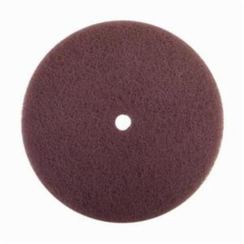 Norton® Rapid Prep™ 66623325915 Standard Back Up Pad Non-Woven Abrasive Disc, 4-1/2 in Dia, Medium Grade, Aluminum Oxide Abrasive, Nylon Fiber Backing