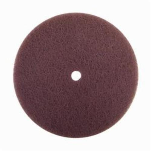 Norton® Rapid Prep™ 66623325919 Standard Back Up Pad Non-Woven Abrasive Disc, 7 in Dia, Medium Grade, Aluminum Oxide Abrasive, Nylon Fiber Backing
