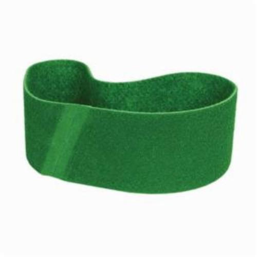 Norton® Bear-Tex® Rapid Prep™ 66623333457 Benchstand Flex Low Stretch Narrow Regular Surface Conditioning Non-Woven Abrasive Belt, 6 in W x 48 in L, Fine Grade, Aluminum Oxide Abrasive, Green