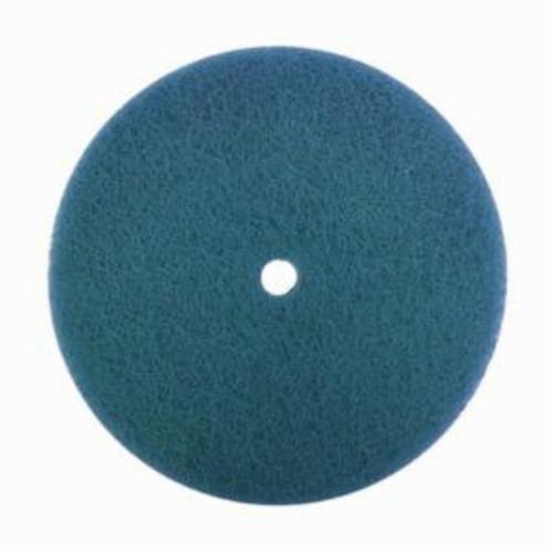 Norton® Vortex® Rapid Prep™ 66623334954 Standard Back Up Pad Non-Woven Abrasive Disc, 5 in Dia, Fine Grade, Aluminum Oxide Abrasive, Nylon Fiber Backing