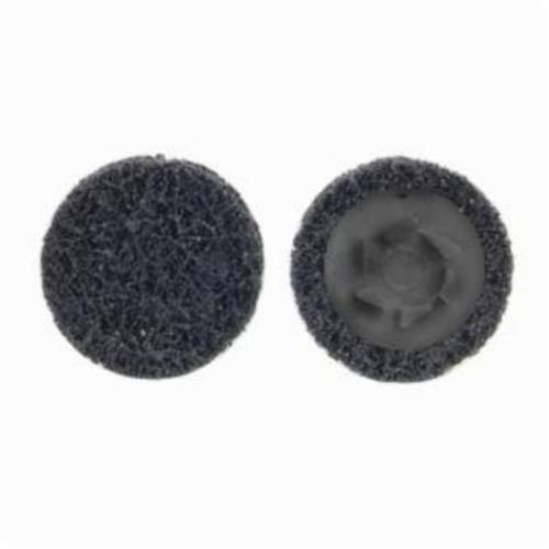Norton® Rapid Prep™ 66623340012 Non-Woven Abrasive Quick-Change Disc, 2 in Dia, 36 Grit, Extra Coarse Grade, Aluminum Oxide Abrasive, Type TP (Type I) Attachment