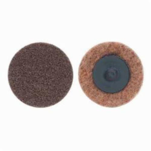 Norton® Rapid Prep™ 66623340023 Non-Woven Abrasive Quick-Change Disc, 1 in Dia, 50 Grit, Coarse Grade, Aluminum Oxide Abrasive, Type TR (Type III) Attachment