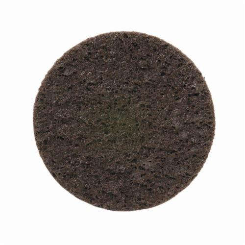 Norton® Merit® 66623340028 Non-Woven Abrasive Quick-Change Disc, 2 in Dia, 50 Grit, Coarse Grade, Aluminum Oxide Abrasive, Type TR (Type III) Attachment