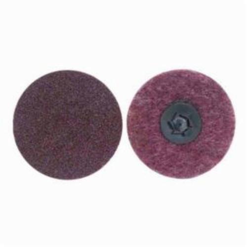 Norton® Rapid Prep™ 66623340033 Non-Woven Abrasive Quick-Change Disc, 1 in Dia, 150 Grit, Medium Grade, Aluminum Oxide Abrasive, Type TP (Type I) Attachment