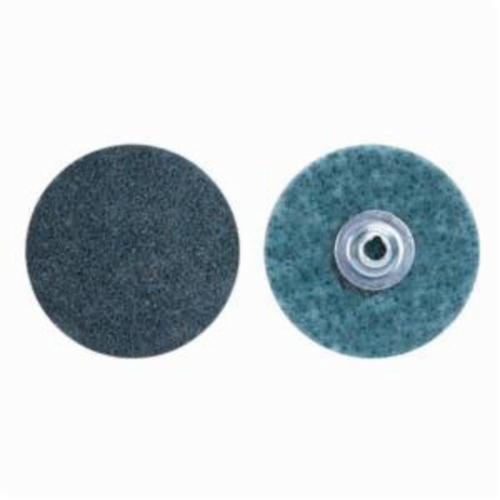 Norton® Bear-Tex® Rapid Prep™ 66623340042 Non-Woven Abrasive Quick-Change Disc, 3/4 in Dia, 150 Grit, Very Fine Grade, Aluminum Oxide Abrasive, Type TS (Type II) Attachment