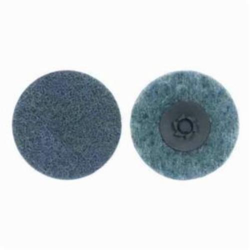 Norton® Rapid Prep™ 66623340051 Non-Woven Abrasive Quick-Change Disc, 4 in Dia, 360 Grit, Very Fine Grade, Aluminum Oxide Abrasive, Type TP (Type I) Attachment