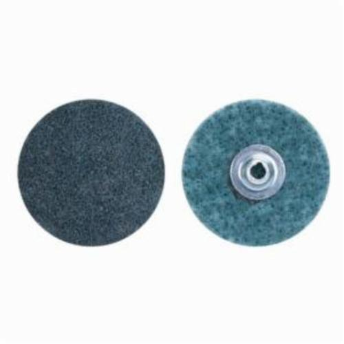 Norton® Rapid Prep™ 66623340052 Non-Woven Abrasive Quick-Change Disc, 4 in Dia, 150 Grit, Very Fine Grade, Aluminum Oxide Abrasive, Type TS (Type II) Attachment