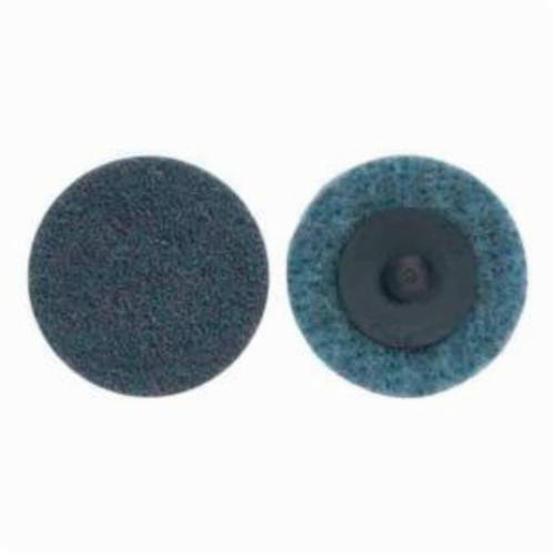 Norton® Rapid Prep™ 66623340053 Non-Woven Abrasive Quick-Change Disc, 4 in Dia, 150 Grit, Very Fine Grade, Aluminum Oxide Abrasive, Type TR (Type III) Attachment