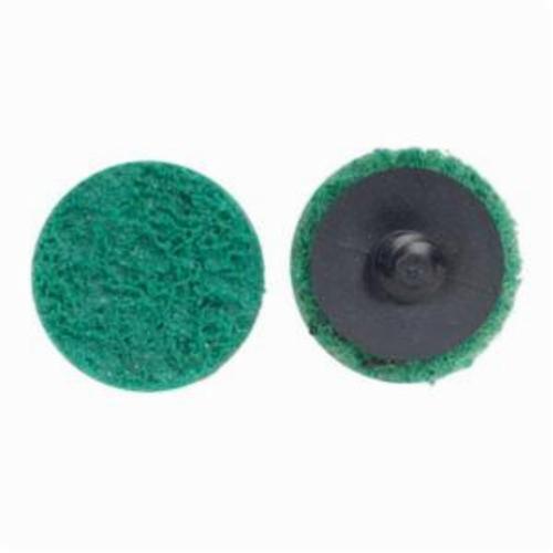 Norton® Rapid Prep™ 66623340070 Non-Woven Abrasive Quick-Change Disc, 1-1/2 in Dia, 120 Grit, Fine Grade, Aluminum Oxide Abrasive, Type TR (Type III) Attachment