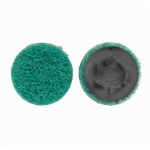 Norton® Rapid Prep™ 66623340072 Non-Woven Abrasive Quick-Change Disc, 2 in Dia, 360 Grit, Fine Grade, Aluminum Oxide Abrasive, Type TP (Type I) Attachment
