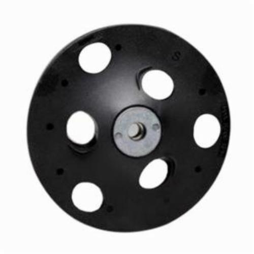 Norton® Bear-Tex® Rapid Strip™ 66623374819 Non-Woven Abrasive Disc, 5 in Dia, Medium Grade, Aluminum Oxide Abrasive, Speed-Lok Fastener Attachment
