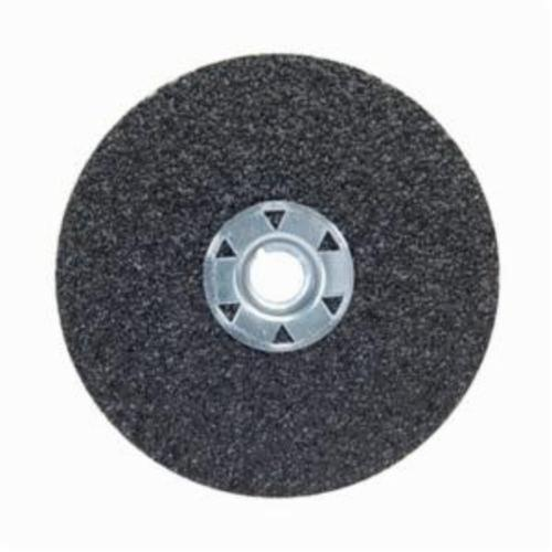 Norton® Neon® 66623395015 F726 Close Coated Heavy Duty Locking Abrasive Disc, 5 in Dia, 5/8-11 Center Hole, 60 Grit, Medium Grade, Aluminum Oxide/Ceramic Alumina Abrasive, Speed Change Fastener Attachment