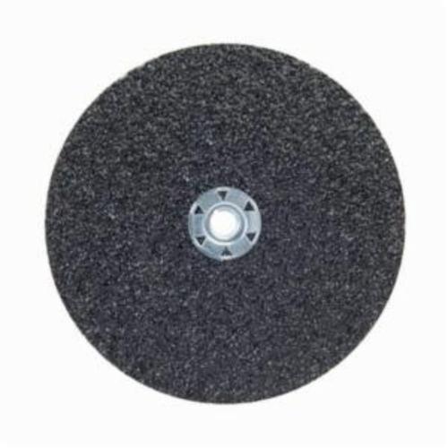 Norton® Neon® 66623395026 F726 Close Coated Heavy Duty Locking Abrasive Disc, 7 in Dia, 5/8-11 Center Hole, 80 Grit, Medium Grade, Aluminum Oxide/Ceramic Alumina Abrasive, Speed Change Fastener Attachment