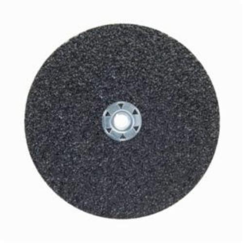 Norton® Neon® 66623395027 F726 Close Coated Heavy Duty Abrasive Disc, 7 in Dia, 5/8-11 Center Hole, 100 Grit, Fine Grade, Aluminum Oxide Abrasive, Speed Change Fastener Attachment