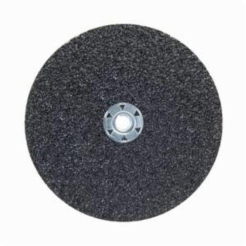 Norton® Neon® 66623395028 F726 Close Coated Heavy Duty Abrasive Disc, 7 in Dia, 5/8-11 Center Hole, 120 Grit, Fine Grade, Aluminum Oxide Abrasive, Speed Change Fastener Attachment