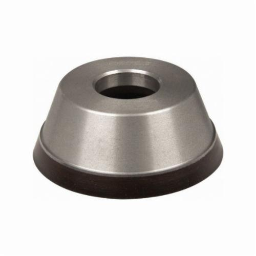 Norton® 69014191646 Cup Wheel, 3-3/4 in Dia x 1-1/2 in THK, 1-1/4 in Center Hole, 220 Grit, Diamond Abrasive