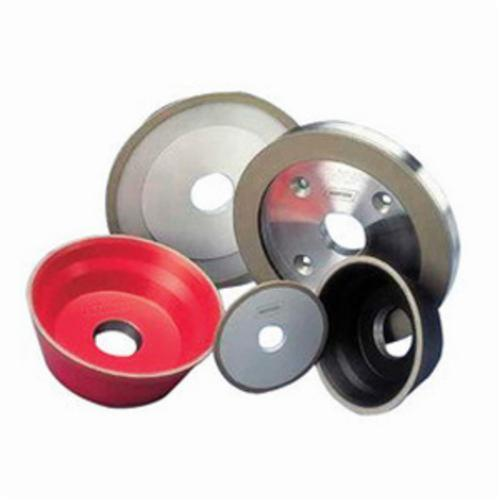Norton® 69014192152 Straight Cut-Off Wheel, 4 in Dia x 1/32 in THK, 1-1/4 in Center Hole, 100S Grit, Free Cutting Diamond Abrasive