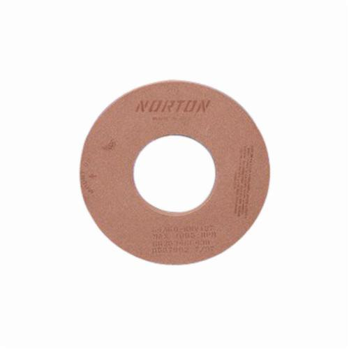 Norton® 69078608140 64A Straight Surface and Cylindrical Grinding Wheel, 20 in Dia x 3 in THK, 8 in Center Hole, 60 Grit, Aluminum Oxide Abrasive