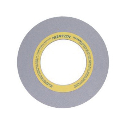 Norton® 69078608982 86A Surface and Cylindrical Grinding Wheel, 20 in Dia x 1 in THK, 8 in Center Hole, 60 Grit, Aluminum Oxide Abrasive