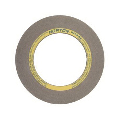 Norton® 69078665347 53A Centerless Grinding Wheel, 20 in Dia x 2 in THK, 12 in Center Hole, 60 Grit, Aluminum Oxide Abrasive