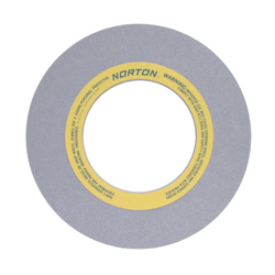 Norton® 69078665433 32A Straight Surface and Cylindrical Grinding Wheel, 20 in Dia x 2 in THK, 8 in Center Hole, 46 Grit, Aluminum Oxide Abrasive