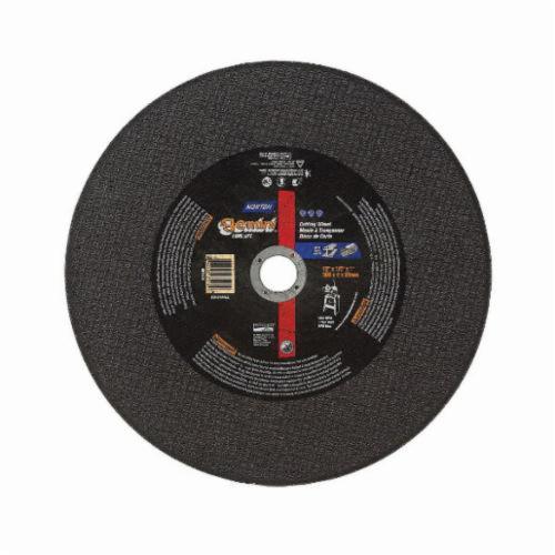 Norton® Gemini® 69078609031 57A Free Cut Cut-Off Wheel, 20 in Dia x 5/32 in THK, 1 in Center Hole, 30 Grit, Aluminum Oxide Abrasive