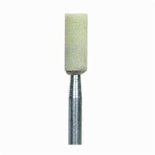 Norton® Quantum™ 69083149133 3NQ Mounted Point, W154 Cylindrical Point, 3/16 in Dia x 1/2 in L Head, 1/4 in Dia Shank
