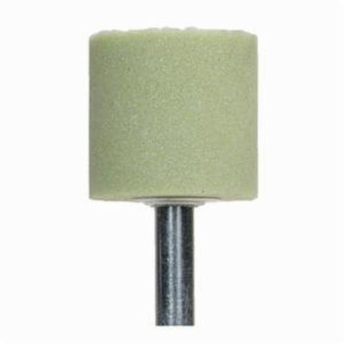 Norton® Quantum™ 69083154055 Mounted Point, W179 Cylindrical Point, 3/8 in Dia x 1-1/4 in L Head, 1/4 in Dia Shank