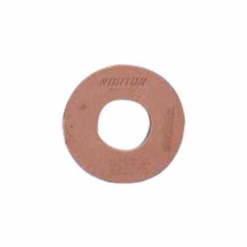 Norton® 69083166710 64A Straight Surface and Cylindrical Grinding Wheel, 24 in Dia x 2 in THK, 12 in Center Hole, 60 Grit, Aluminum Oxide Abrasive