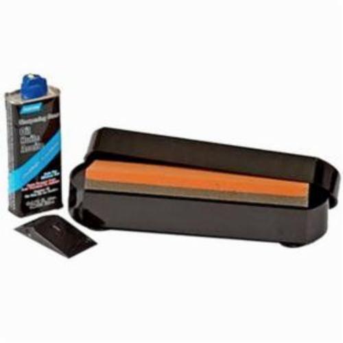 Norton® 69936642504 IM50 1-Stone Sharpening Station Kit, 8 in L x 2 in W x 1 in H