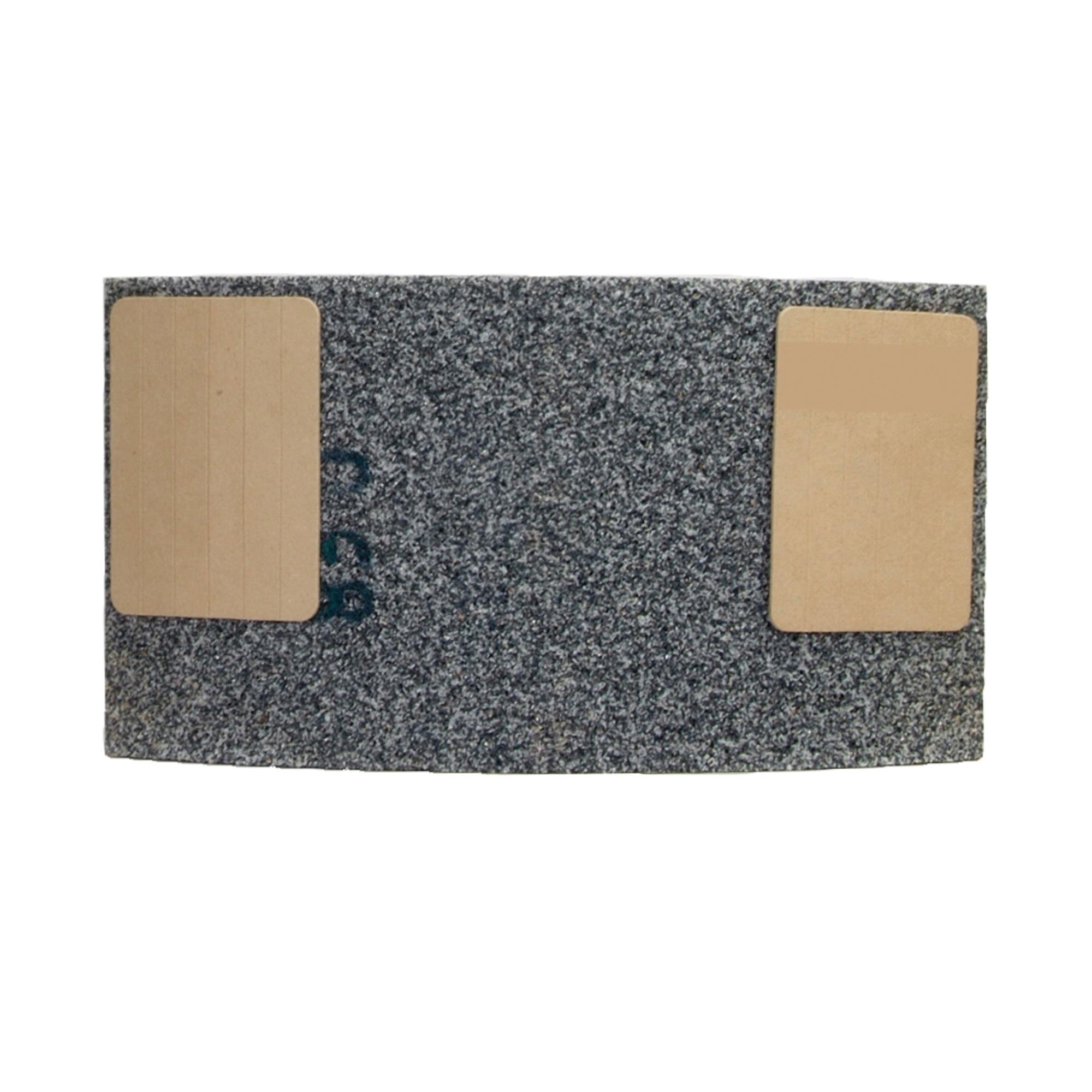 Norton® Gemini® 69936699706 53A Type 31 Surface Grinding Segment, 6 in H x 11-1/4 in W x 2-1/4 in THK, 30 Grit, Aluminum Oxide Abrasive