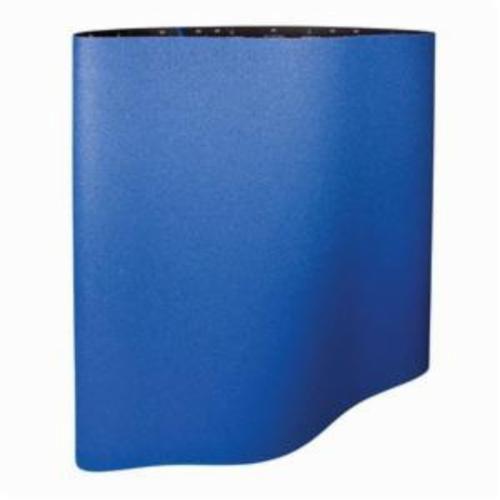 Norton® BlueFire® 69957305107 R884P Plyweld RR-Flex Wide Coated Abrasive Belt, 37 in W x 75 in L, 50 Grit, Coarse Grade, Zirconia Alumina Abrasive, Polyester Backing