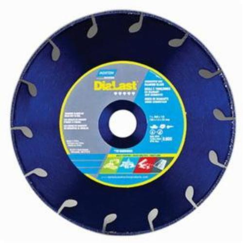 Norton® DiaLast™ 70184694055 Reinforced Right Cut Straight Depressed Center Wheel, 7 in Dia x 0.06 in THK, 7/8 in Center Hole, Diamond Abrasive