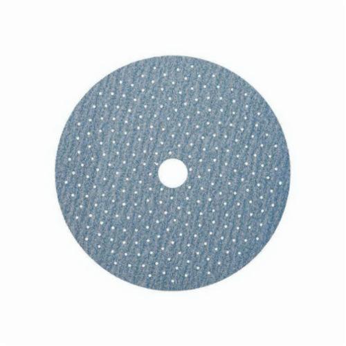 Norton® No-Fil® Multi-Air® Cyclonic® 77696007776 A975 Hook and Loop Disc, 6 in Dia, P220 Grit, Very Fine Grade, Ceramic Alumina Abrasive, Latex Paper Backing