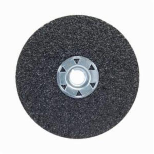 Norton® Neon® 77696009728 F726 Close Coated Heavy Duty Locking Abrasive Disc, 5 in Dia, 5/8-11 Center Hole, 80 Grit, Medium Grade, Aluminum Oxide/Ceramic Alumina Abrasive, Speed Change Fastener Attachment