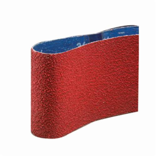 Norton® 78072718753 SG R981 Plyweld Portable Coated Abrasive Belt, 3-1/2 in W x 15-1/2 in L, 120 Grit, Medium Grade, Ceramic Alumina Abrasive, Polyester Backing