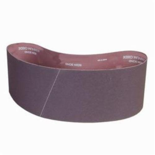 Norton® Metalite® 78072705189 R228 Narrow Coated Abrasive Belt, 4 in W x 60 in L, 36 Grit, Extra Coarse Grade, Aluminum Oxide Abrasive, Cotton Backing