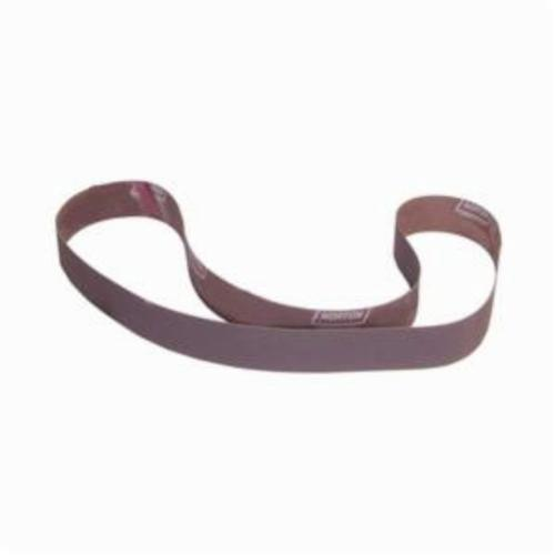 Norton® Metalite® 78072718488 R228 Narrow Coated Abrasive Belt, 2 in W x 72 in L, 180 Grit, Fine Grade, Aluminum Oxide Abrasive, Cotton Backing