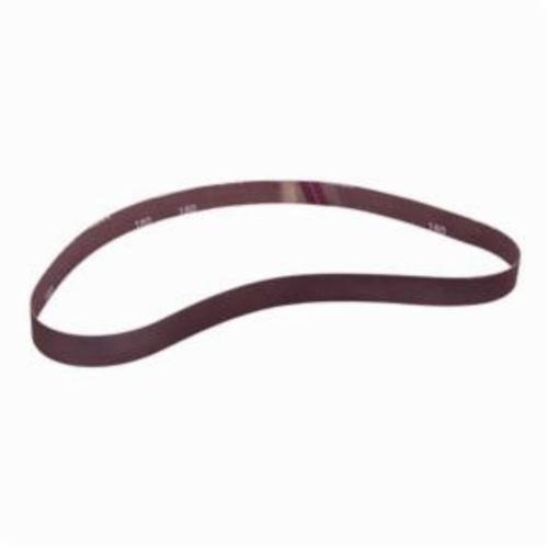 Norton® Metalite® 78072720875 R228 Narrow RR-Flex Coated Abrasive Belt, 1 in W x 42 in L, 180 Grit, Fine Grade, Aluminum Oxide Abrasive, Cotton Backing