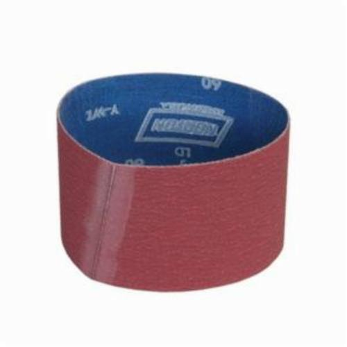 Norton® Metalite® 78072721997 R215 Plyweld Portable Coated Abrasive Belt, 3-1/2 in W x 15-1/2 in L, 36 Grit, Extra Coarse Grade, Aluminum Oxide Abrasive, Cotton Backing