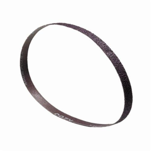 Norton® Metalite® 78072766143 R283 File Coated Abrasive Belt, 1/4 in W x 12 in L, P80 Grit, Coarse Grade, Aluminum Oxide Abrasive, Cotton/Rayon Backing