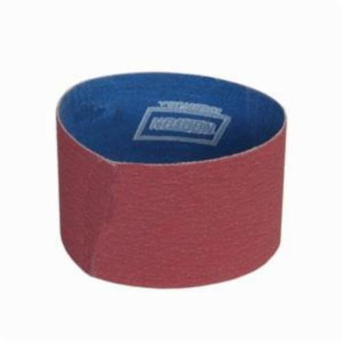 Norton® Metalite® 78072727993 R255 Portable Coated Abrasive Belt, 3 in W x 18 in L, 80 Grit, Coarse Grade, Aluminum Oxide Abrasive, Cotton Backing