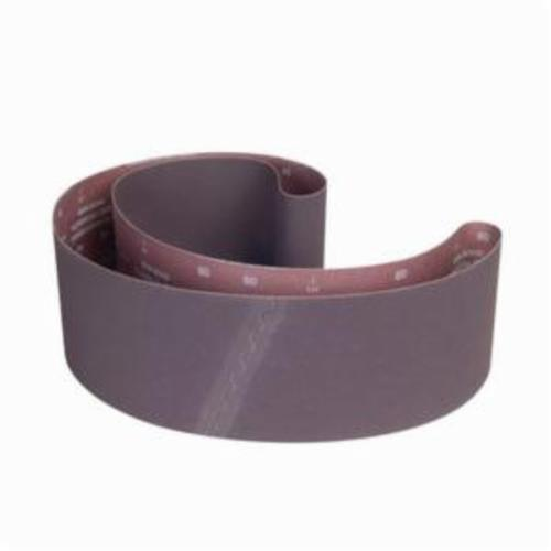 Norton® Metalite® 78072744693 R228 Narrow Coated Abrasive Belt, 4 in W x 60 in L, 40 Grit, Extra Coarse Grade, Aluminum Oxide Abrasive, Cotton Backing